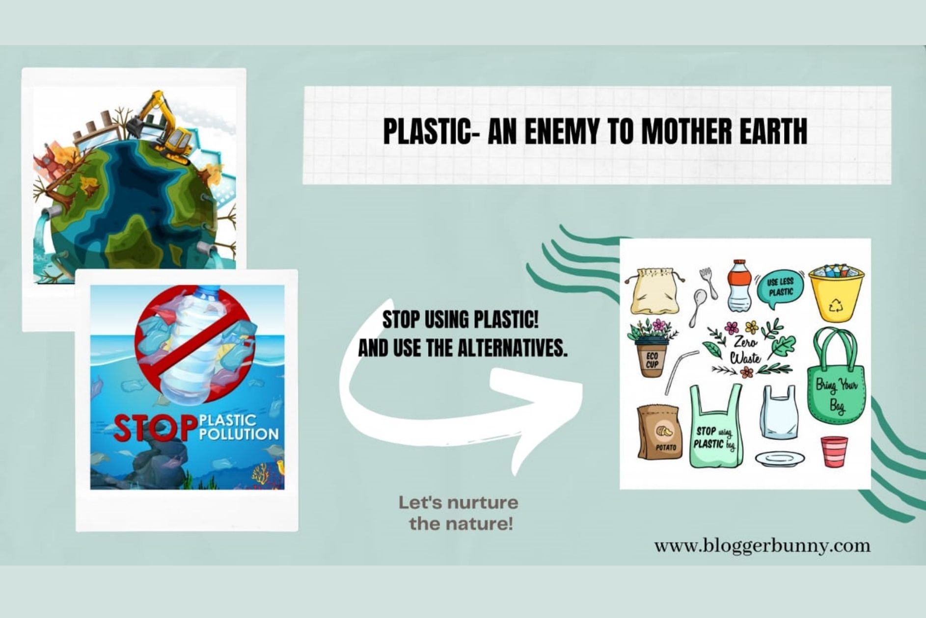 Plastic – An Enemy to Mother Earth
