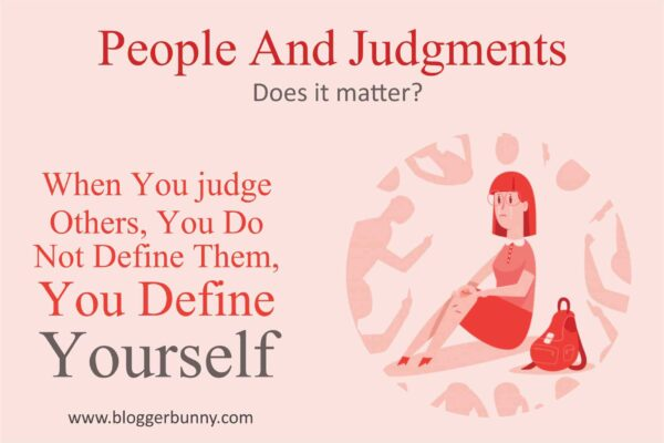 people and judgment