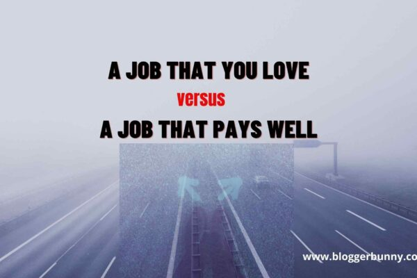 A Job That You Love versus A Job That Pays Well feature image