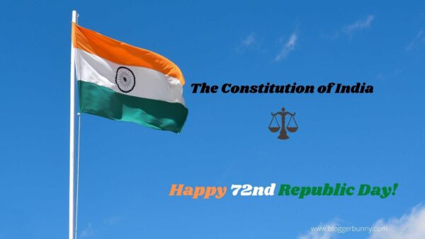 The Constitution of India - Happy 72nd Republic Day