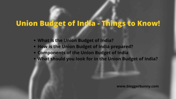Union Budget of India - Things to Know feature image