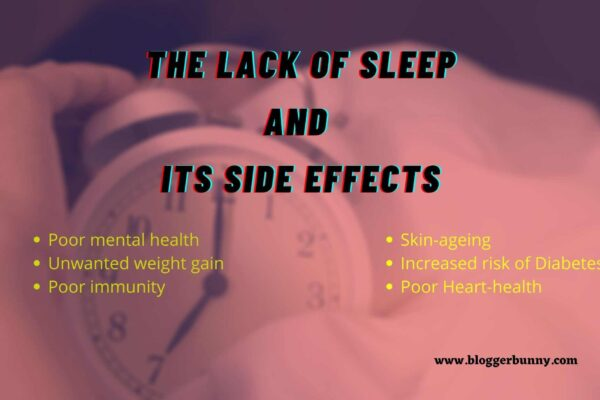The Lack of Sleep And Its Side Effects
