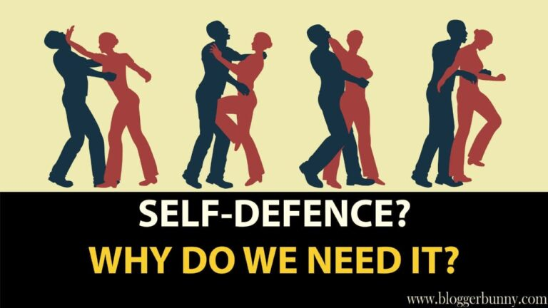 why do we need self defence