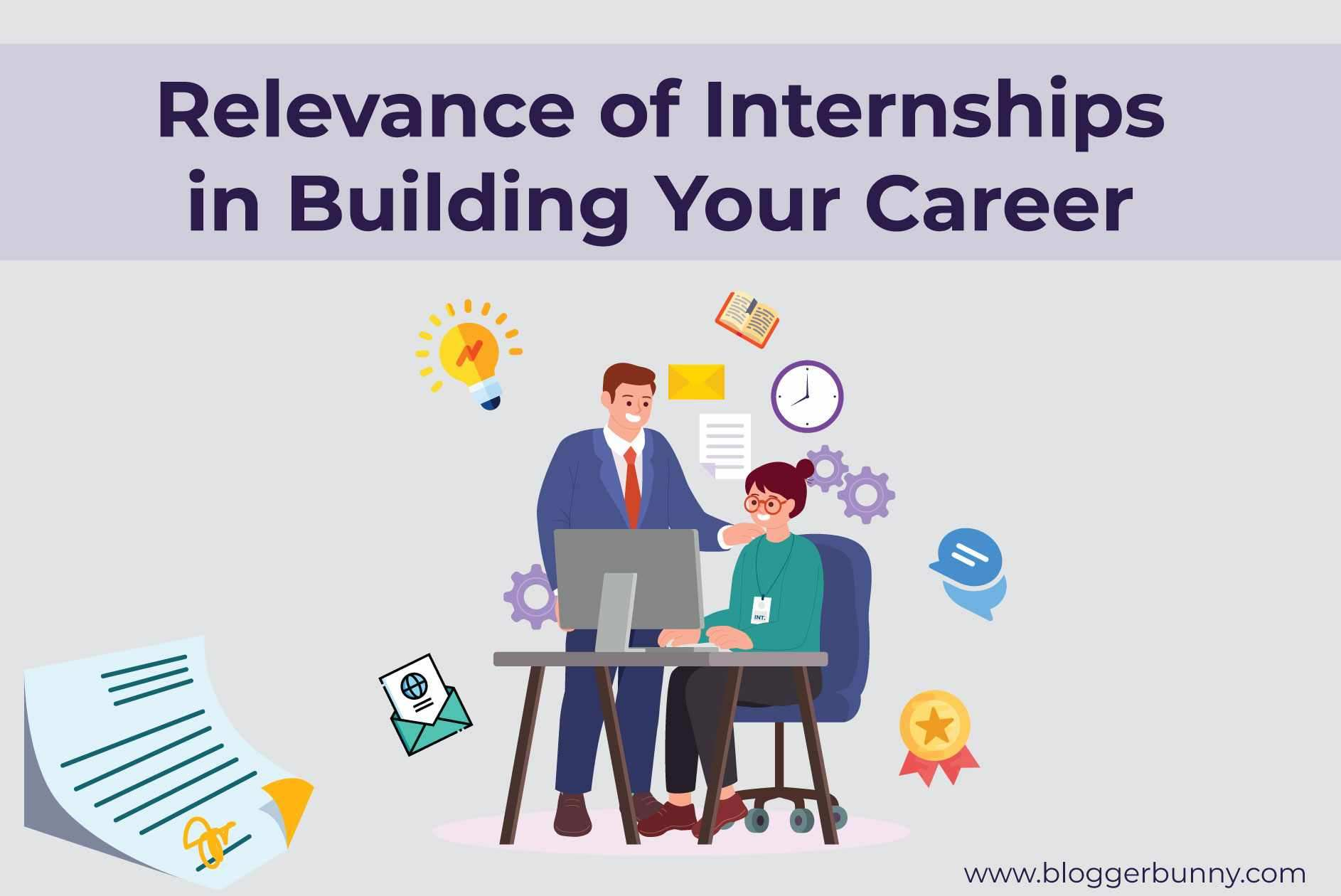 Relevance of Internships in Building Your Career