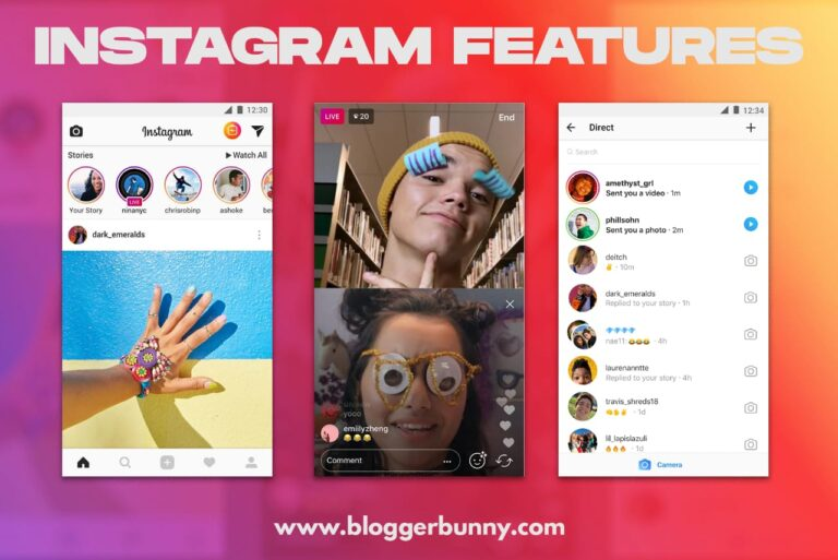 top features of instagram