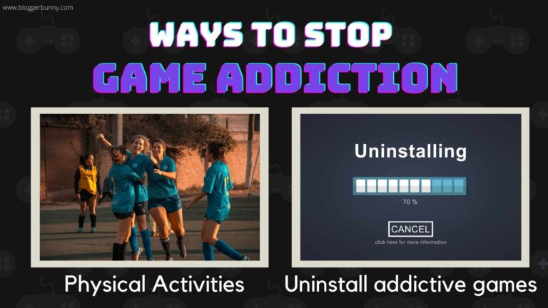 Do more physical exercise inorder to stop gaming addiction