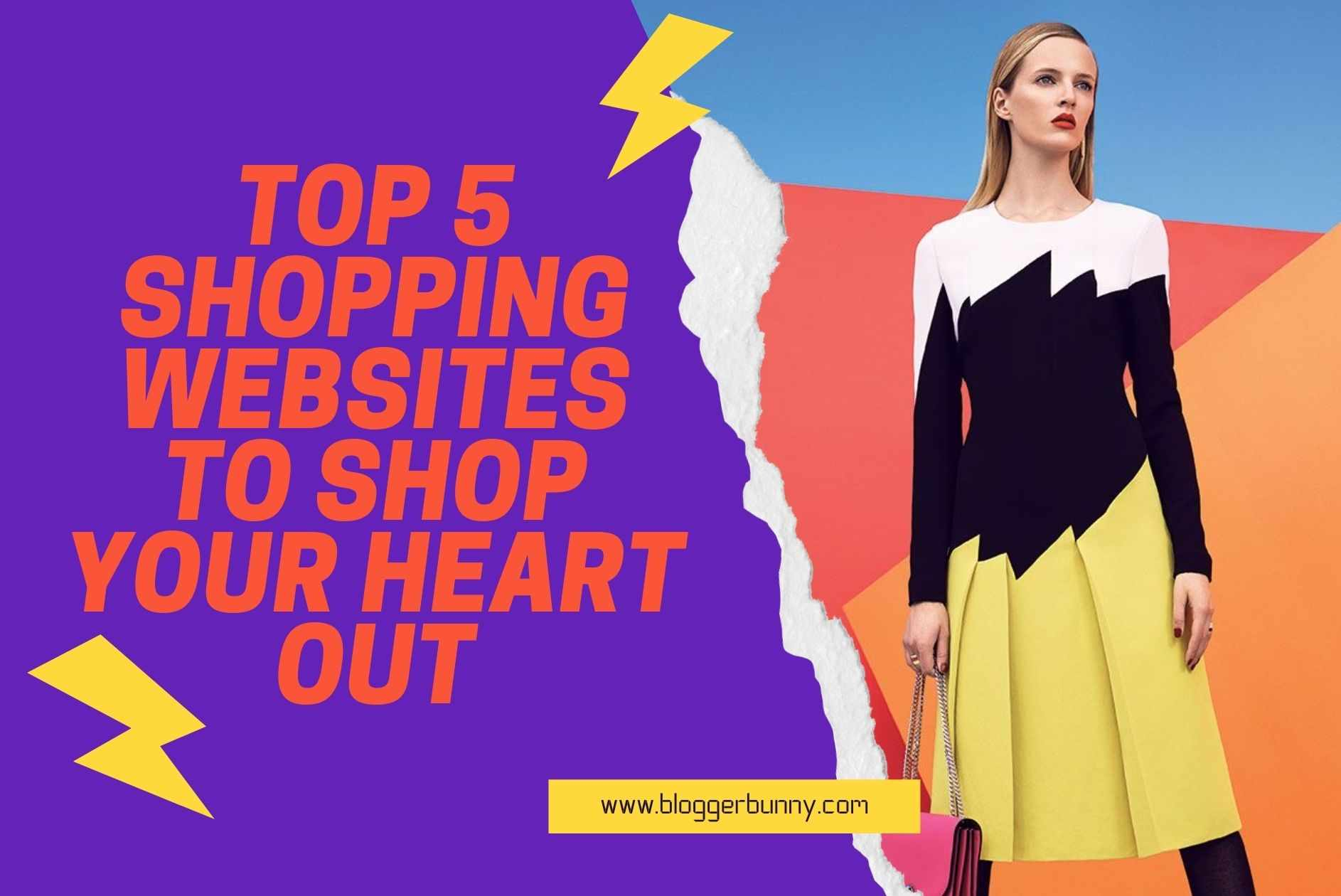 Top 5 Shopping Websites to Shop Your Heart Out