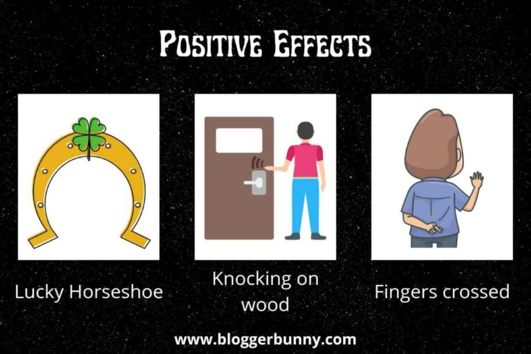 positive superstitions