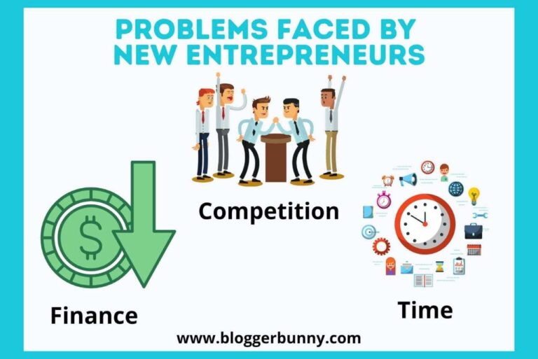 problems faced by new entrepreneurs
