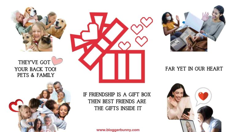 friendship is a gift box