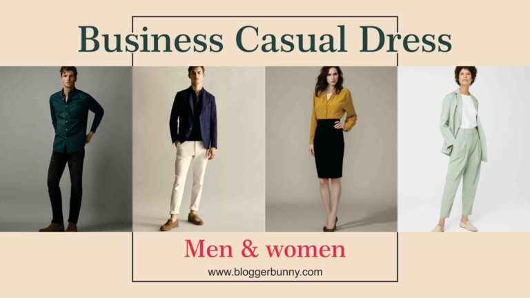 Business casual dress code for men and women