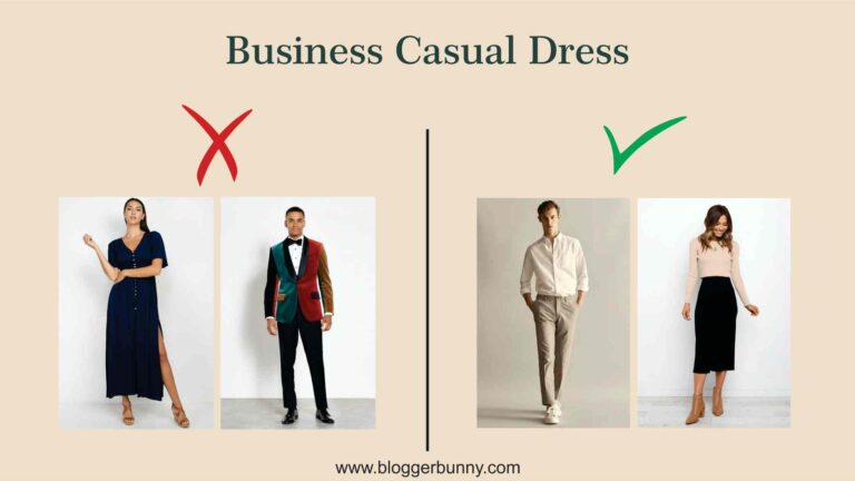 things not to wear if dress code is business casuals