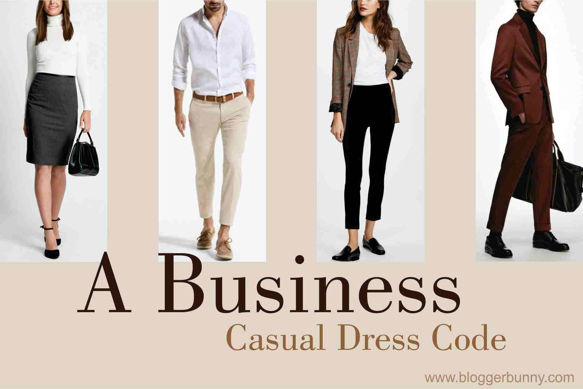 A Business Casual Dress Code