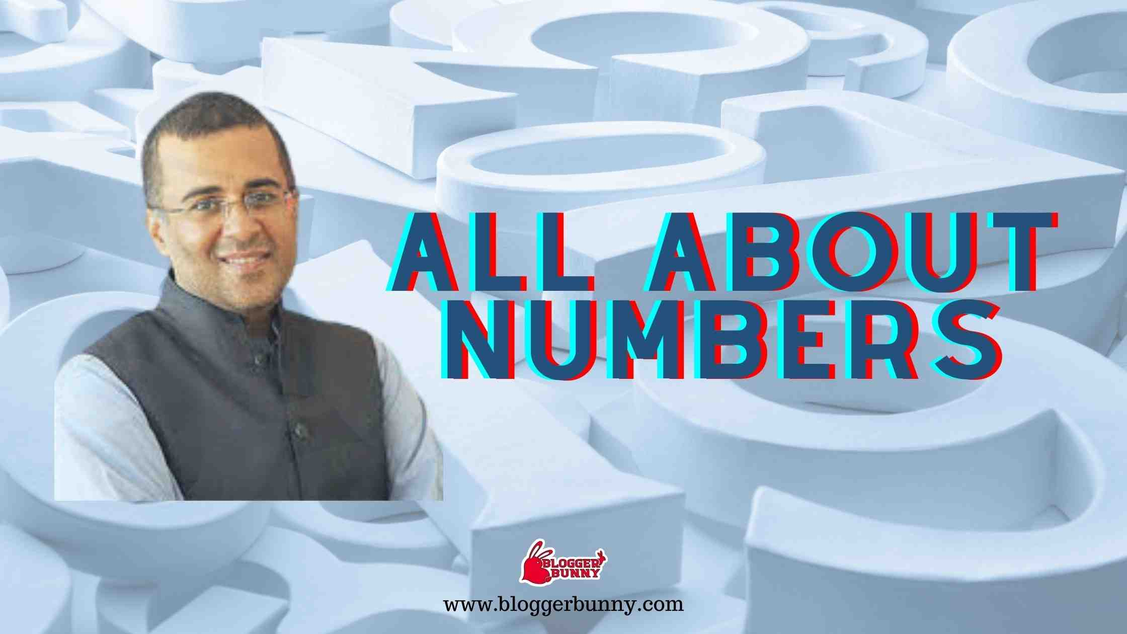 All About Numbers : Top 5 Novels of Chetan Bhagat