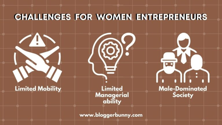 challanges faced in women entrepreneurship