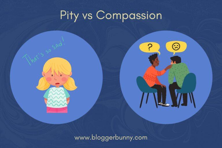 Humanity and Pity Difference is important to understand